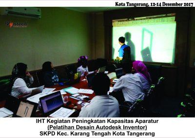 20171212 Pelatihan Desain AutoDesk Inventor - Tangerang 1