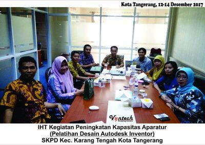 20171212 Pelatihan Desain AutoDesk Inventor - Tangerang