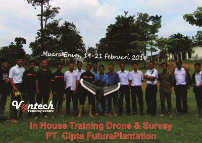 20180219 IHT Drone & Survey Perkebunan Sawit di Muara Enim 1