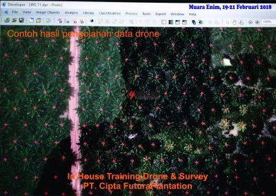20180219 IHT Drone & Survey Perkebunan Sawit di Muara Enim 2