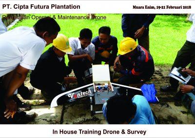 20180219 IHT Drone & Survey Perkebunan Sawit di Muara Enim 3