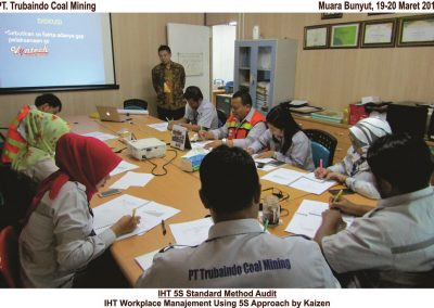 20180319 IHT 5S Standard Methode Audit di Muara Bunyut 3