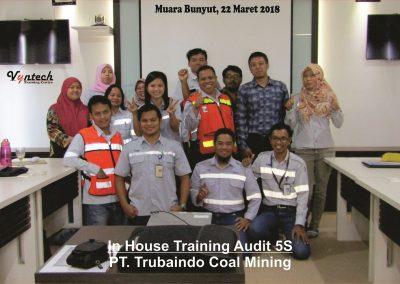 20180322 IHT Audit 5S - PT. Trubaindo Coal Mining